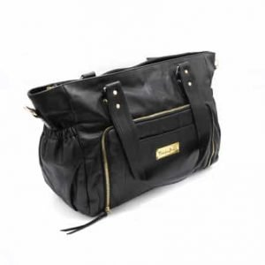 Y910 083 300x300 - Casey Leather Baby Bag- Black ( $299 for first 6 orders only)