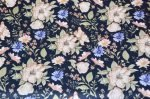 Aurora Navy Cotton Fabric 1 150x99 - Aurora Navy Pram Liner- Made to order- Custom Fit or Universal (Regular Fabric) LIMITED EDITION ONLY